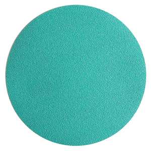 "Sandpaper-Film, 6"" No Hole, Velcro Disc"