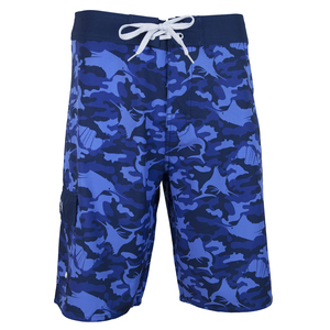 Men's Camo 4 Way Stretch Boardshorts