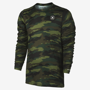 Men's Dri-Fit Camo Long Sleeve Shirt