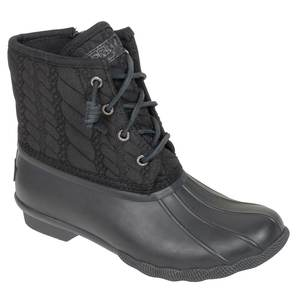 Women's Saltwater Rope Embossed Duck Boots