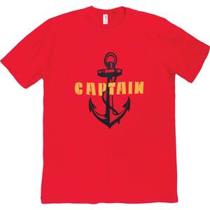 Men's Captain Anchor Short Sleeve Tee