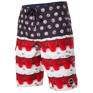 Men's Quarters Boardshorts