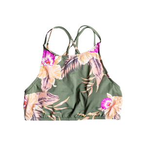 Women's Cast Away Floral Bikini Crop Top