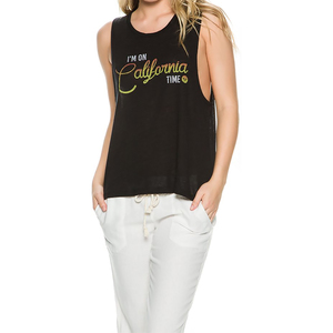 Women's I'm On Cali Time Tank
