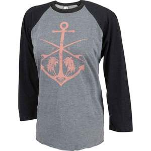 Women's Lady Pacific Baseball Raglan Shirt