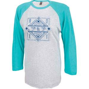 Women's Weekend Warrior Baseball Raglan Shirt