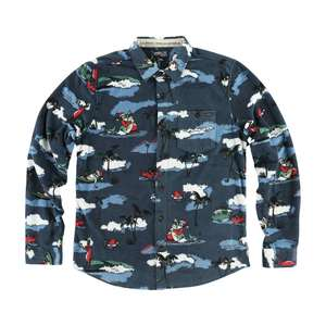 Men's Glacier Patterns Superfleece Shirt
