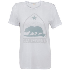 Women's California Surf Bear Graphic Tee