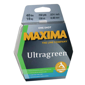 1-Shot Spool Monofilament Line, Ultragreen
