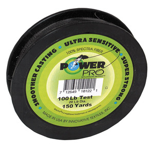 Spectra Braided Fishing Line, 150yds, Green