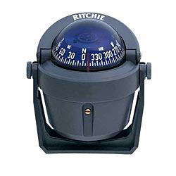 Ritchie Navigation Bracket-Mount Explorer Compass, Gray Case, Blue Card Sale $77.99 SKU: 597534 ID# B-51G UPC# 10342160157 :