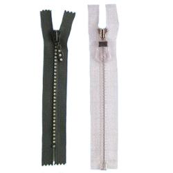 Redrum Fabrics 120 Zipper - Black