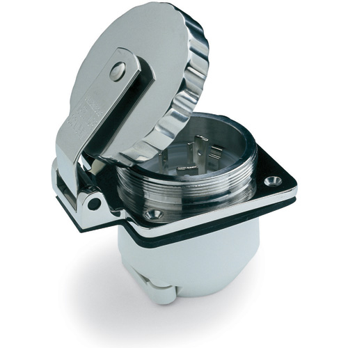 Marinco Stainless-Steel 16A/220 Volts 50 Hz Power Inlet Sale $119.99 SKU: 10036804 ID# 303SSEL-BXPK UPC# 93344310324 :