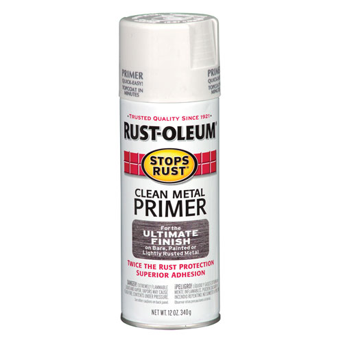 Rust oleum clean metal primer west marine Spray paint for metal