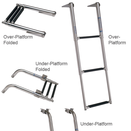 Garelick 2-Step Under-Platform Ladder, 26/17L, 12 Outside Width Sale $74.99 SKU: 6705529 ID# 19622-61:01 UPC# 38203196220 :