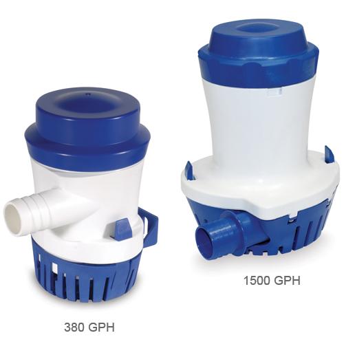 Shurflo 1500gph Bilge Pump, 1-1/8 Barb Port Size, 4A @ 24V DC Draw, 6.07 x 5 x 7.23 Sale $144.99 SKU: 10187938 ID# 358-100-10 UPC# 752324010561 :
