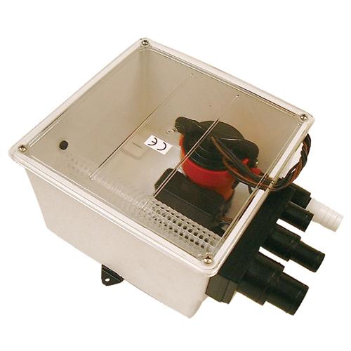 Johnson Pump Multiple Port Shower Sump Sale $134.99 SKU: 10204204 ID# 57151 UPC# 729321571517 :
