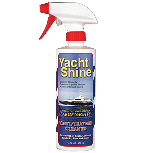 Yacht Shine Vinyl & Leather Cleaner, Pint