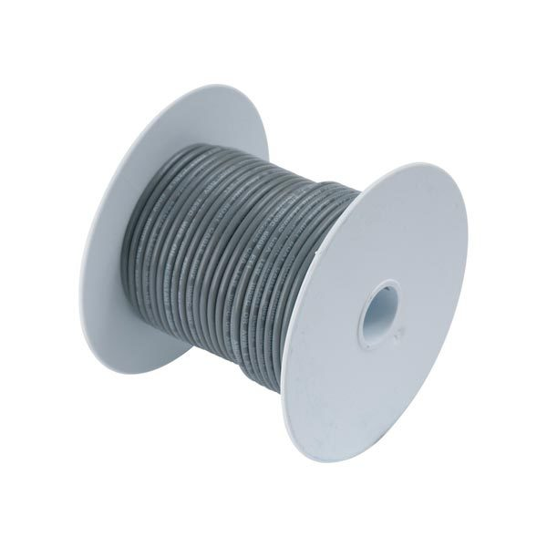 Ancor Gauge: 14 AWG; 100' Spool, Gray