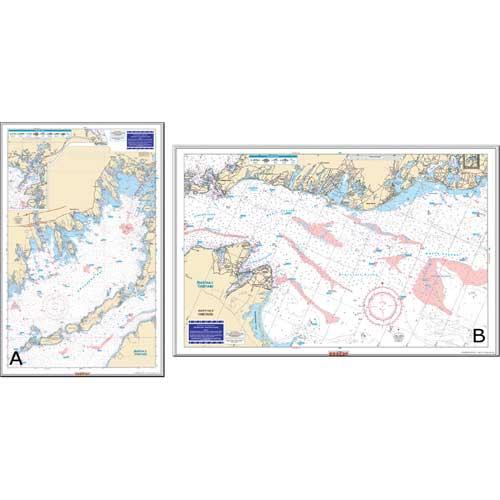 Waterproof Charts Buzzards Bay & Nantucket Sound Fishing Chart Sale $26.99 SKU: 10230696 ID# 61F UPC# 740399006169 :