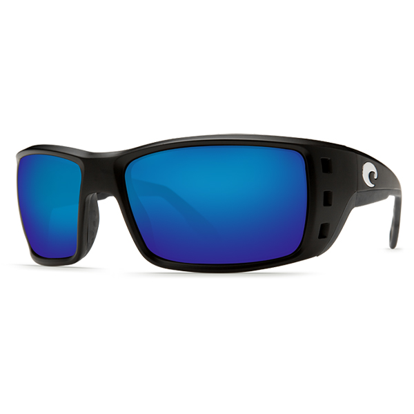 Permit Sunglasses, Matte Black Frames with Costa 400 Black_blue Mirror Glass Lenses Sale $199.00 SKU: 10239853 ID# PT 11 BMGLP UPC# 97963455121 :
