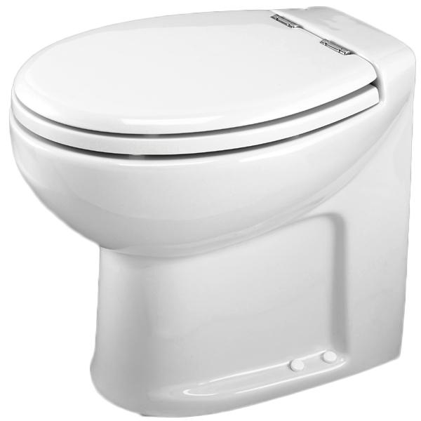 Thetford Silence Plus High with Pump, 17.7H x 15W x 19.7D, White