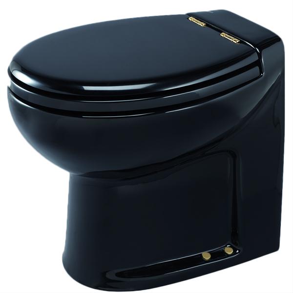 Thetford Silence Plus High with Pump, 17.7H x 15W x 19.7D, Black