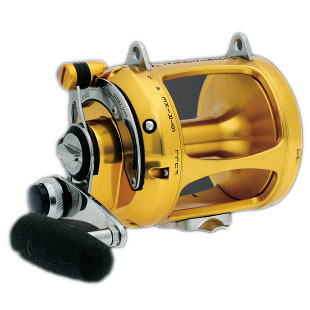 PENN Two-Speed Reel - 80VSW, 875 Yards/100lb. Test, 3.0:1/1.4:1 Gear Ratio, 111oz.
