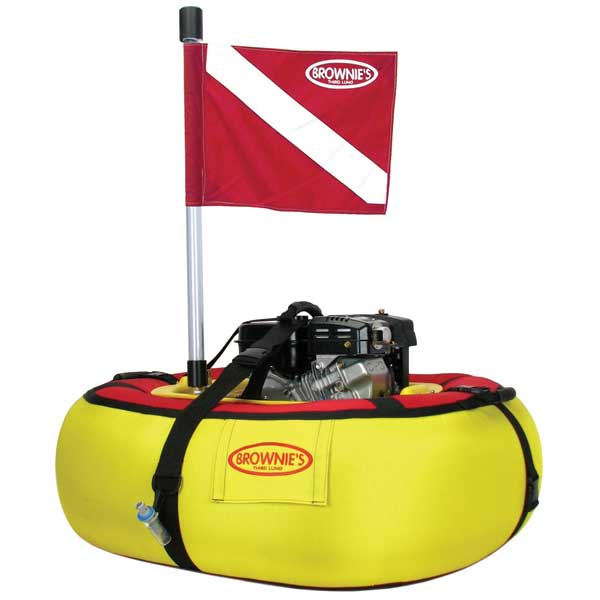 Brownies Third Lung Floating 2 Diver Compressor System