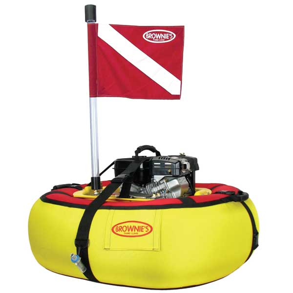 Brownies Third Lung Floating 3 Diver Compressor System
