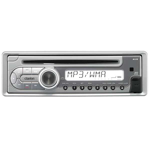 Clarion M109 Marine CD Stereo Receiver