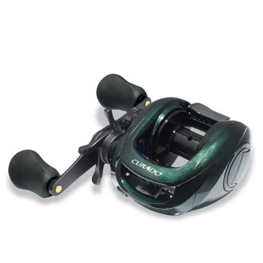 Curado 300E Reel, 6.2:1 Gear Ratio, 190/14lb Yds Test, 10.5oz.