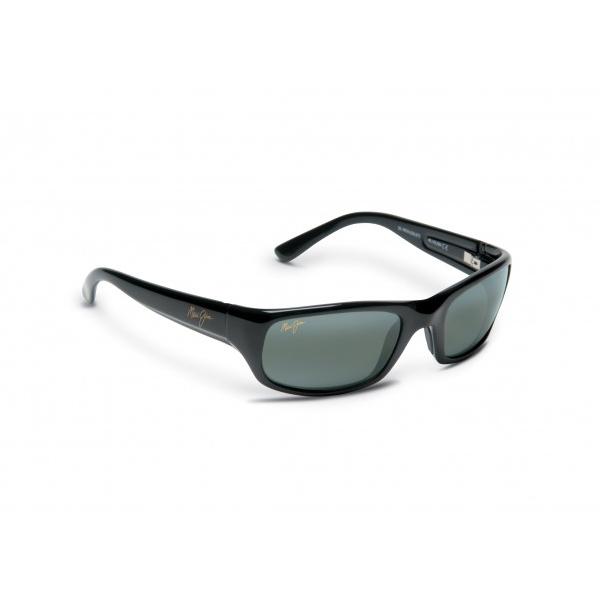 Maui Jim Stingray Sunglasses, Glossy Black/gray Frames with Neutral Gray Lenses Sale $229.00 SKU: 10446045 ID# 103-02 UPC# 603429011505 :