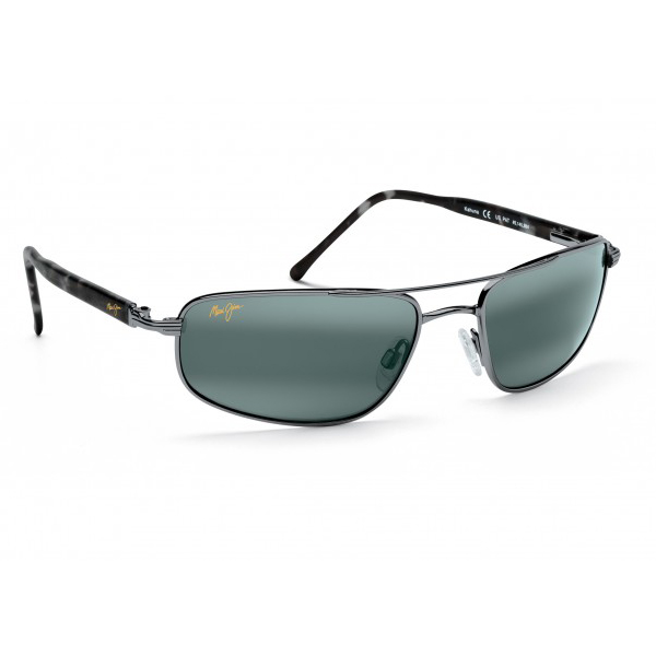 Kahuna Sunglasses, Gunmetal Frames with Neutral Gray Lenses