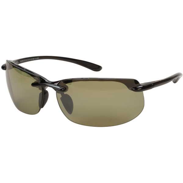 Maui Jim Banyans Sunglasses, Gloss Black Frames with Maui HT Lenses