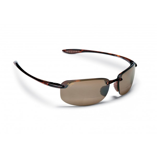 Maui Jim Ho'okipa +2.5 Reader Sunglasses, Tortoise Frames with HCL Bronze Lenses Brown Sale $229.00 SKU: 10445997 ID# H807-1025 UPC# 603429012335 :