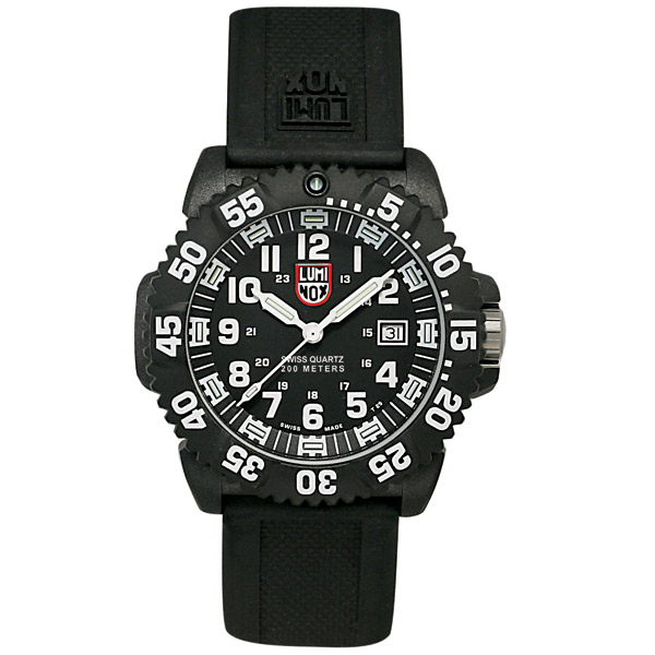 Luminox EVO Navy SEAL Colormark Series Watch, Black