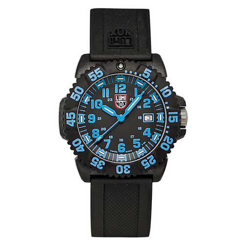 Luminox EVO Navy SEAL Colormark Series Watch, Blue