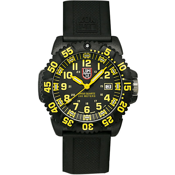 Luminox Evo Navy Seal Colormark Series Watch, Yellow
