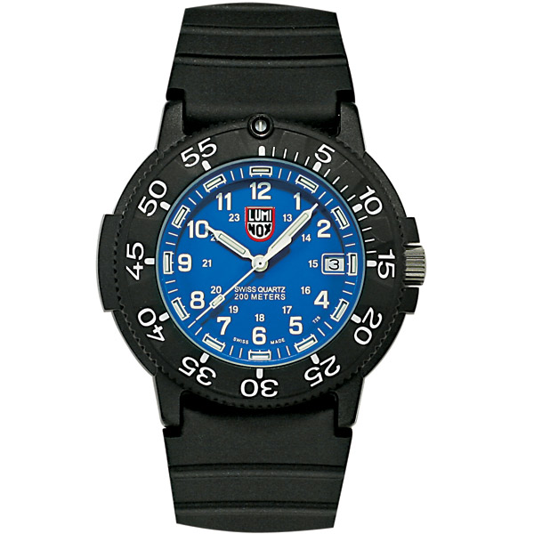 Original Navy SEAL Dive 3000 Series Watch, Blue