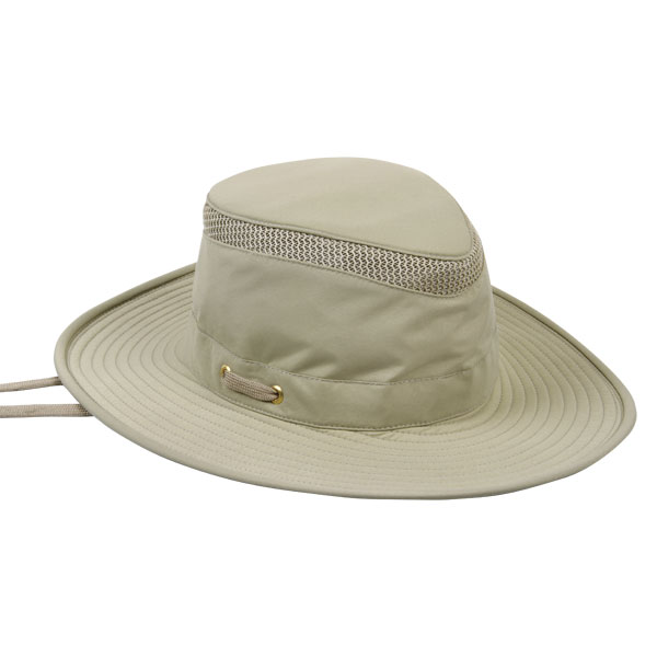 Tilley Airflo Hat, Khaki with Olive Under Brim, 6-7/8 Khaki_olive Sale $84.00 SKU: 10438513 ID# LTM6 KHOL-63 UPC# 826486004024 :