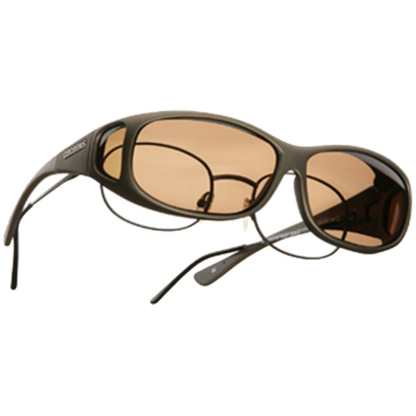 Cocoons Mini Slim Fitover Sunglasses, Sand Frames with Amber Lenses Tan Sale $49.99 SKU: 10448660 ID# C415A UPC# 851006000682 :