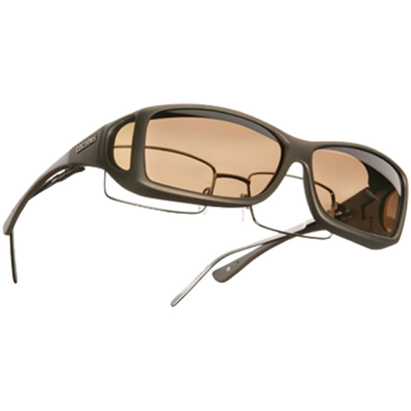 Cocoons Fitover Sunglasses, Sand Frames with Amber Lenses Tan Sale $49.99 SKU: 10448553 ID# C425A UPC# 870201004387 :