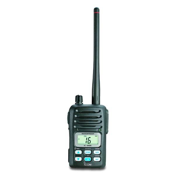 ICOM IC-M88 Intrinsically Safe Submersible Handheld VHF Radio Sale $349.99 SKU: 10617421 ID# M88 11 UPC# 731797303011 :