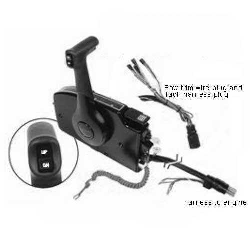 Mercury Marine Side Mount Remote Control - 14 pin