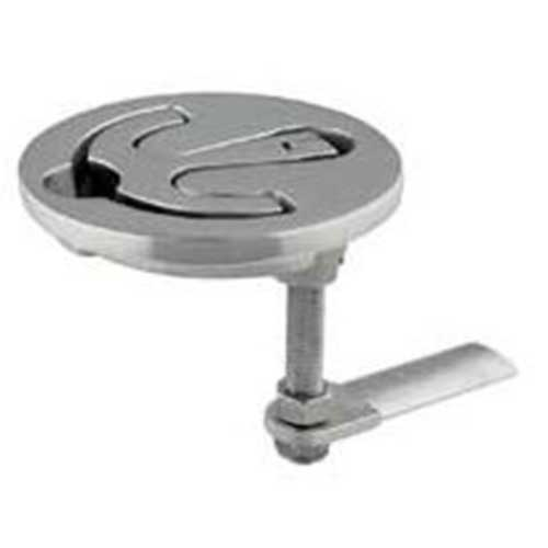 TACO Round Stainless Steel Latch - 3-1/2