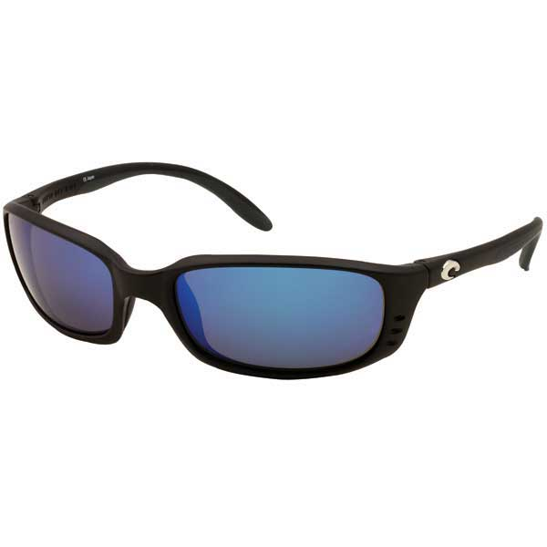 Brine Sunglasses, Matte Black Frames with Costa 580 Black_blue Mirror Glass Lenses Sale $239.00 SKU: 10734069 ID# BR 11 OBMGLP UPC# 97963041683 :