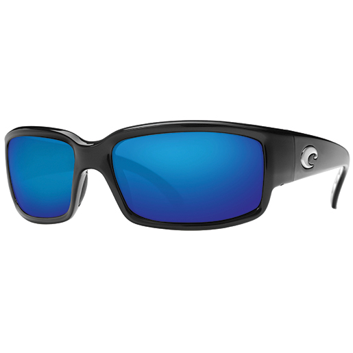 Caballito Sunglasses, Shiny Black Frames with Costa 400 Black/blue Mirror Lenses Sale $169.00 SKU: 10733996 ID# CL 11 BMGLP UPC# 97963465083 :