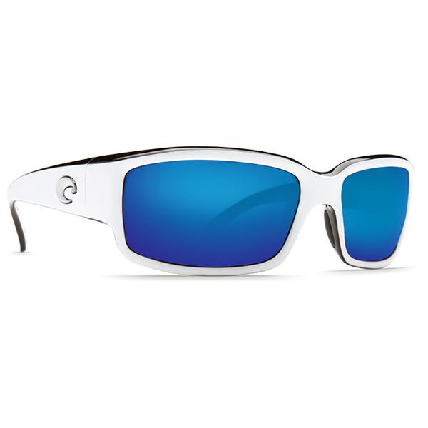 Caballito Sunglasses, Shiny White Frames with Costa 580 White/blue Mirror Lenses Sale $169.00 SKU: 13083290 ID# CL 30 BMGLP UPC# 97963465243 :