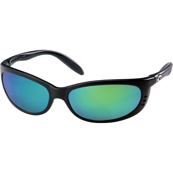 Costa Fathom Sunglasses, Matte Black Frames with 580P Black/green Mirror Lenses Sale $239.00 SKU: 10734010 ID# FA 11 OGMGLP UPC# 97963831673 :